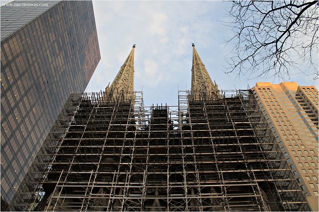 Saint Patrick's Cathedral a Midtown Manhattan