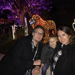 Zoo lights with the family! by bartlewife