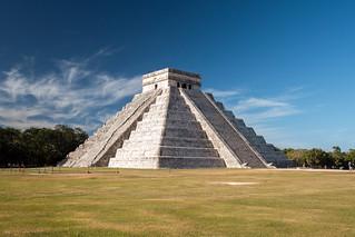 Image of Chichen Itzá near San Felipe Nuevo. 2017 mexico yucatan january winter mayan chichenitza ruins mexique estadosunidosmexicanos pyramidofkukulkan mexiko 墨西哥 pyramides pyramid