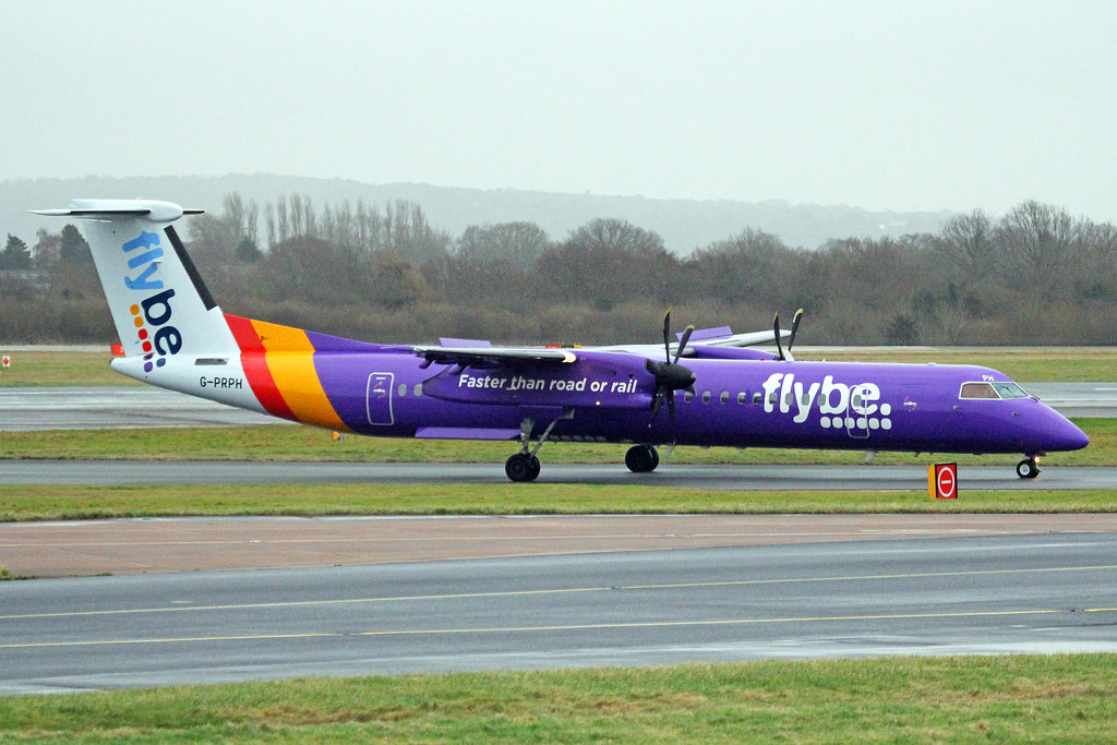 G-PRPH - DH8D - Flybe