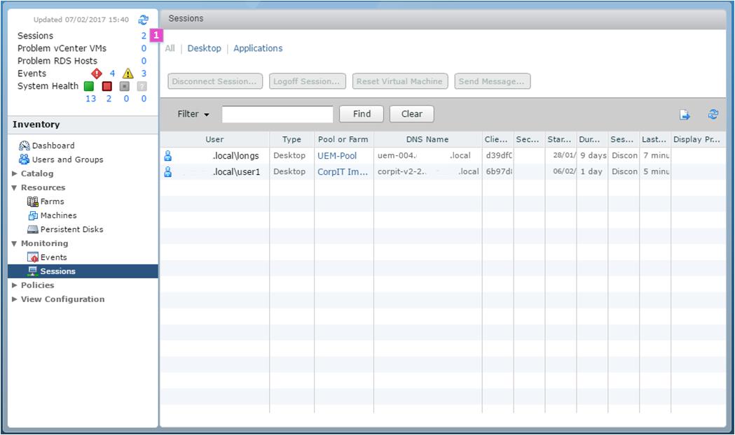 Horizon View API | The SLOG – SimonLong/Blog