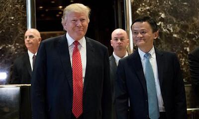马云对话特朗普:要在美国创造100万就业