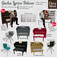Gacha Lyrics Deluxe CHEZ MOI
