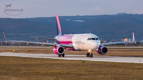 HA-LYS Wizz Air Airbus A320-232(WL)