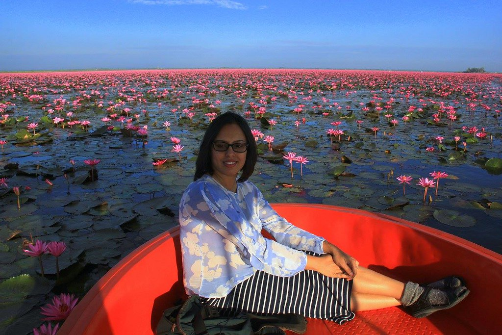 Red Lotus Sea is a popular attraction of Udon Thani