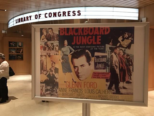Blackboard Jungle at LOC Packard