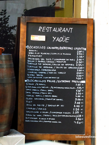 Barcelona jamon biquini sandwich