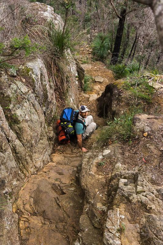 The Chimney - Mount Barney National Park