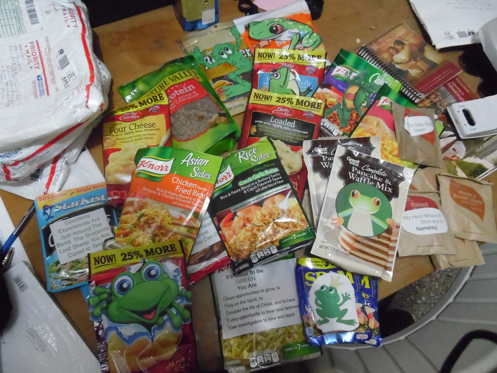 Greenie package from mom
