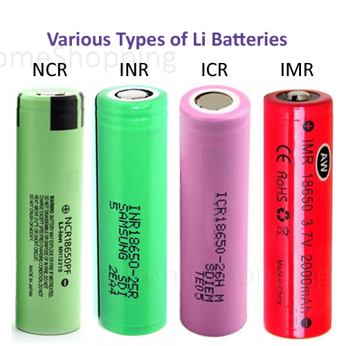 u Home Shopping: About 18650 Batteries Pt 2 of 4 - Types and