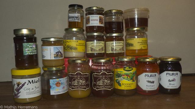 Hoeveel soorten honing?
