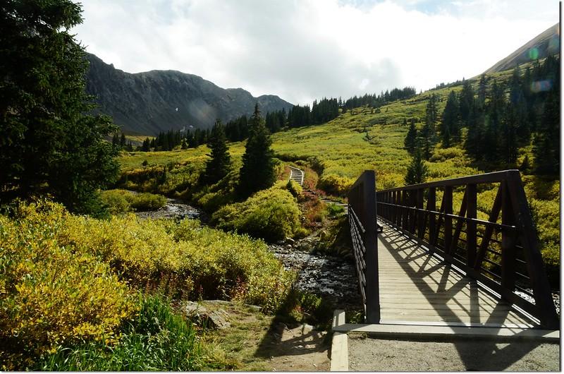 The Grays Peak trail is 2