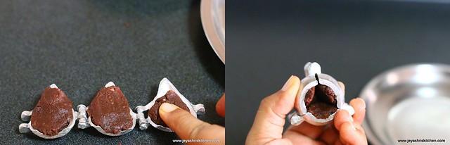 chocolate khoya modak