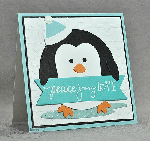 TE Roly Poly - Penguin Diecut