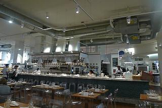 Chicago - Eataly kitchen