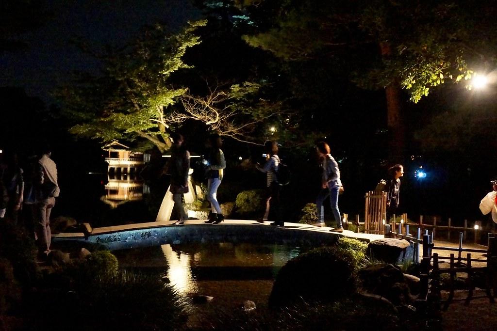兼六園ライトアップ ~秋の段~