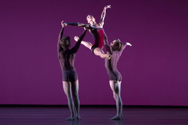 Laura Morera, Alexander Campbell and Tristan Dyer in Viscera, The Royal Ballet © ROH/Andrej Uspenski, 2012