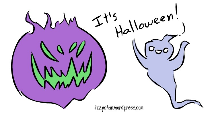 it's Halloween scary ghosts