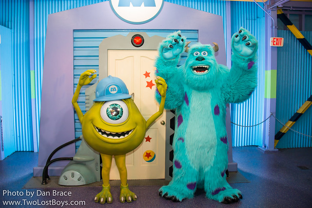 Meeting Mike and Sulley