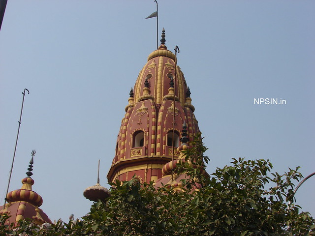 Main Shikhar of Shri Shiv Navgrah Mandir Dham
