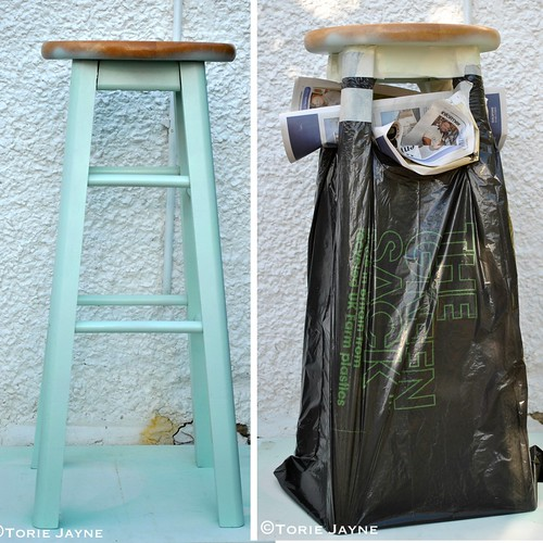 Stool makeover 2