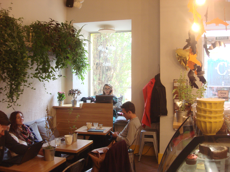 kiev coffe shop