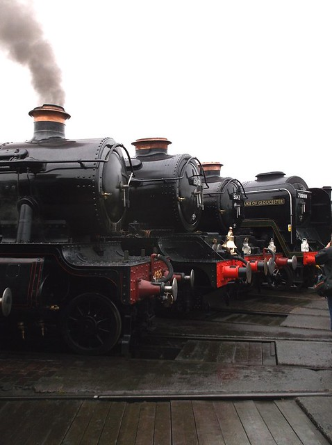 Big steam engines