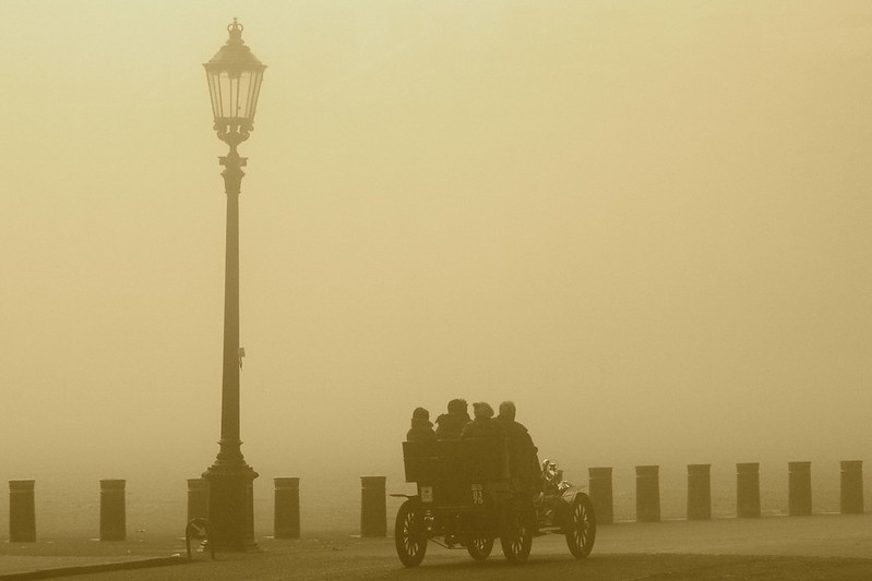 Horse Guards Parade Sepia