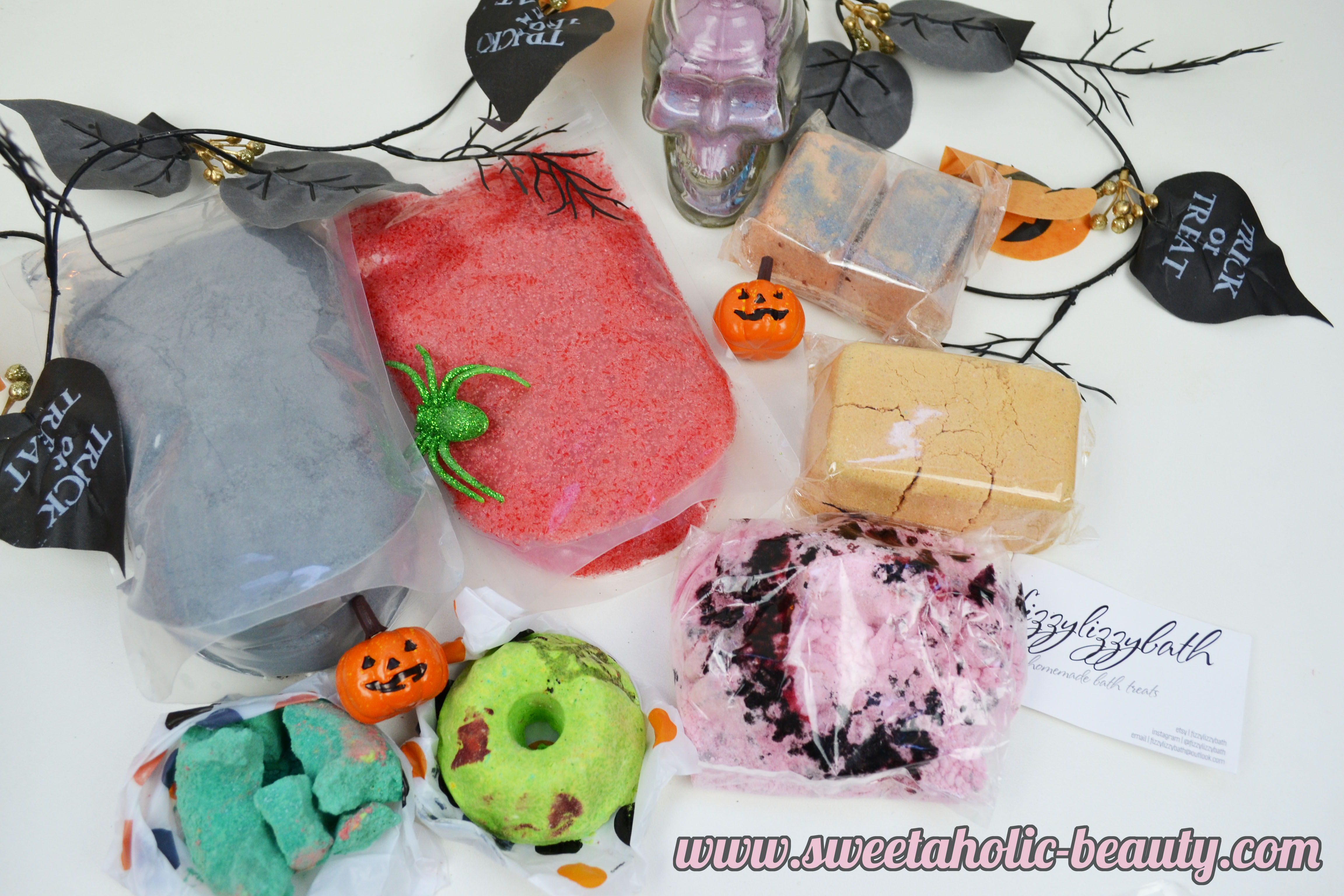 Fizzy Lizzy Bath Halloween Pack Haul - Sweetaholic Beauty