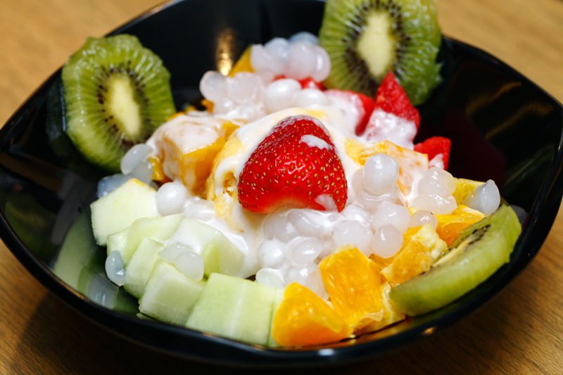 Mango Aloha Ice Cream Sago and Fruits