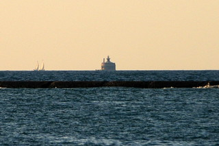 Wilson Avenue Crib Lighthouse, Illinois