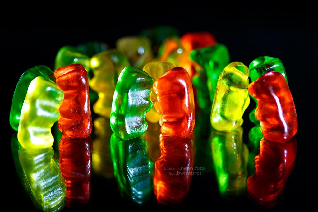 ~ gummy bears candy