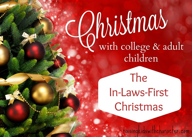 Christmas With College & Adult Children: The In-Laws-First-Christmas