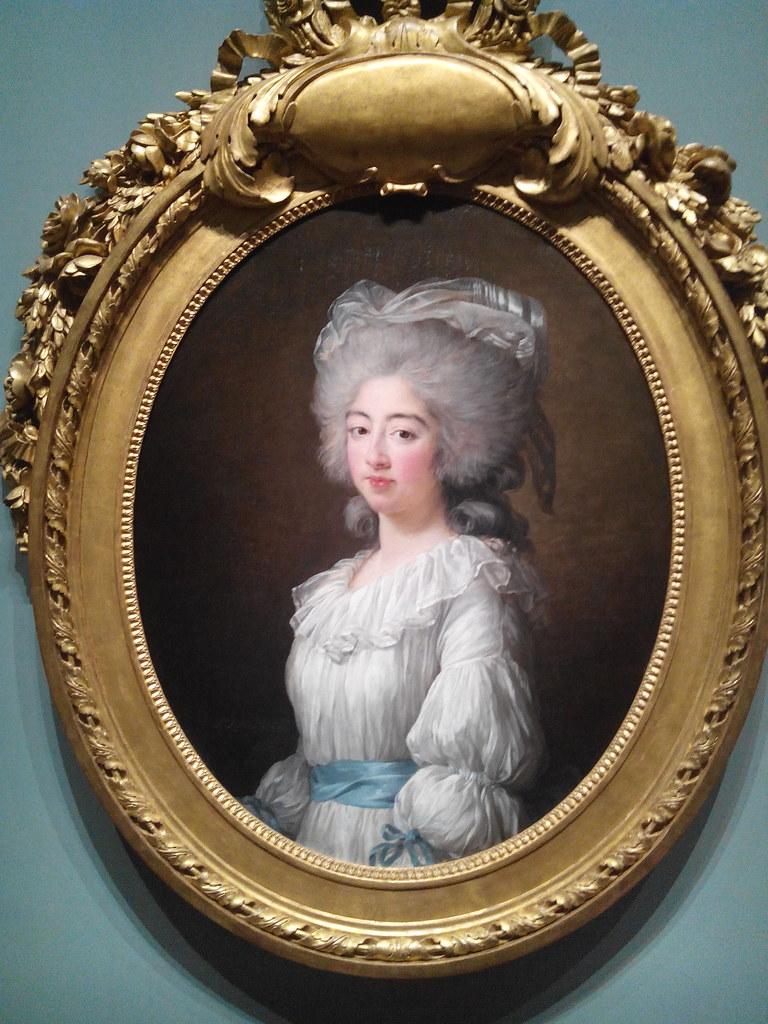 Exposition grand Palais, portraits de Vigée Lebrun