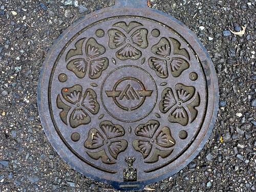 Kanda Fukuoka, manhole cover 2 (福岡県苅田町のマンホール2)