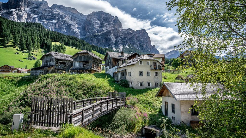 San Cassiano, Alta Badia, Italy picture