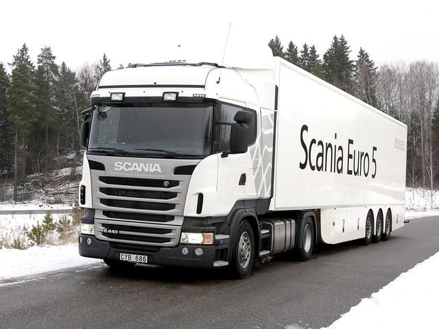 Магистральный тягач Scania R440 4x2 Highline. 2009 – 2013 годы