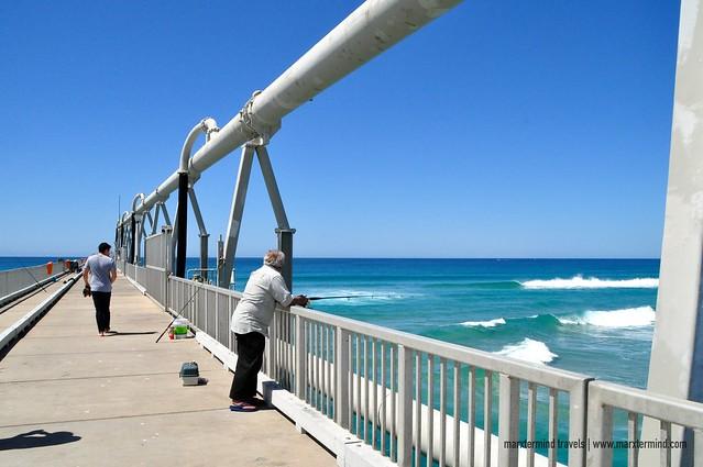 Gold Coast Southport Sand Pumping Jetty