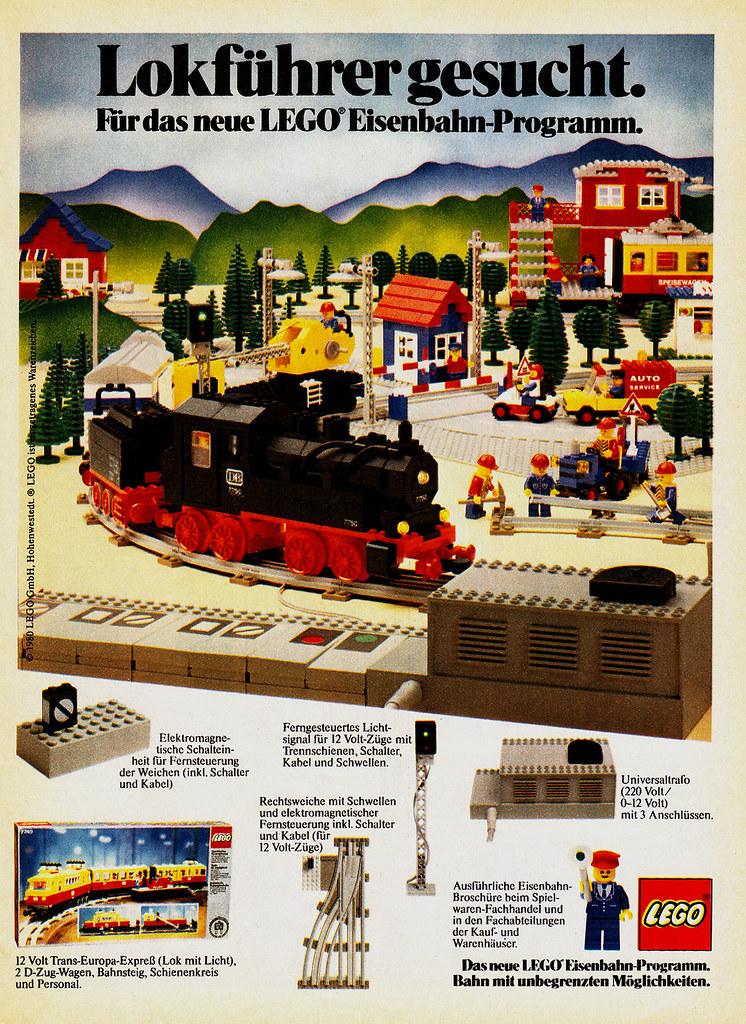 Lego eisenbahn 80er