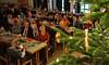 Wie jedes Jahr fand die Weihnachtsfeier des Kreisverbandes im Saal der Peter und Pauls Kirche in Karlsruhe statt.