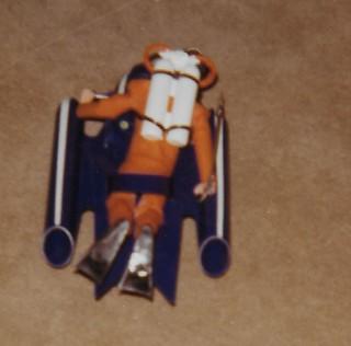 GiJoe underwater sled