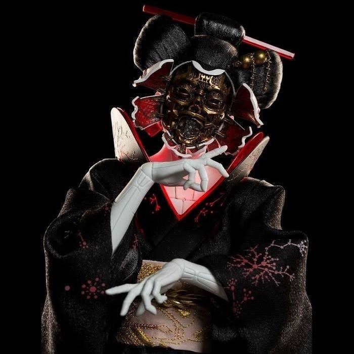全球最速立體化!《攻殼機動隊》 1/4 比例雕像 少校 & 藝妓 Ghost in the Shell: Mixed-Media 1/4 Scale Statue  - The Major & Geisha
