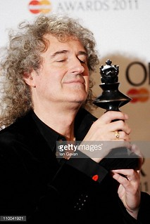 Brian May @ Olivier Awards - 2011