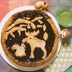 Woodland forest tart