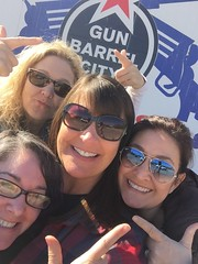 Having fun in Gun Barrel City, TX.  Jan 2017.