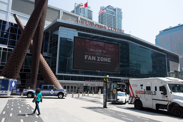 Header of Air Canada Centre