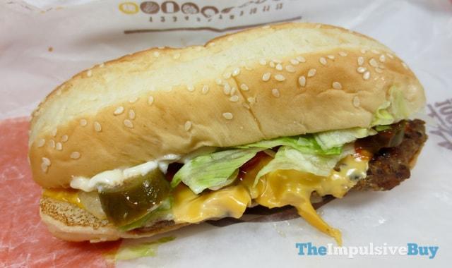 Burger King Extra Long Jalapen?o Cheeseburger