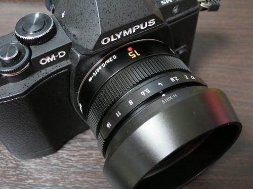 LEICA DG SUMMILUX 15mm F1.7 ASPH.