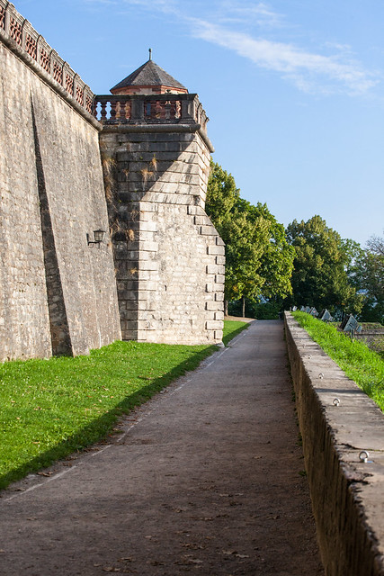 Marienberg Fortress. Würzburg, Franconia region of Bavaria, Germany