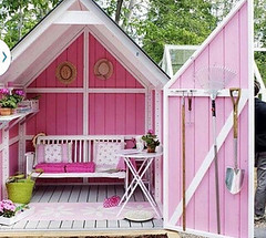 Sales of she-sheds have increased by 50% in the UK